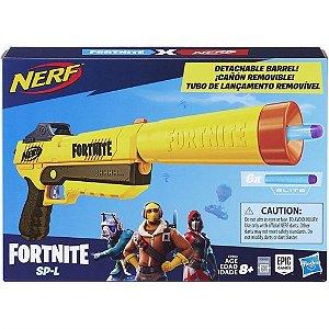 Lançador de Dardos Nerf Fortnite SP-L Elite Dart Blaster