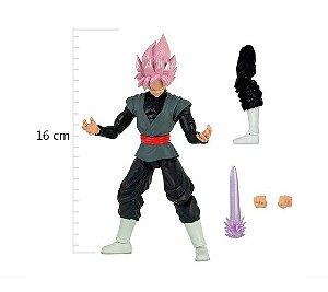 Dragon Ball Super Rose Goku Black Boneco Articulado