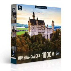 Quebra-cabeça Game Office Castelo de Neuschwanstein 1000 Pçs