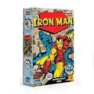 Quebra-cabeça Game Office Marvel Comics Iron Man 500 Peças