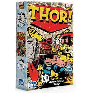 Quebra-cabeça Game Office Marvel Comics Thor 500 Peças