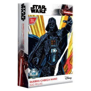Quebra-cabeça Game Office Star Wars Darth Vader 500 Peças