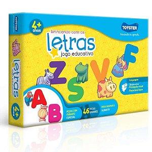 Brincando com as Letras Jogo Educativo - Toyster