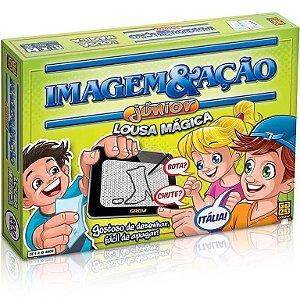 Jogo de Tabuleiro Imagem e Ação Júnior Lousa Mágica - Grow