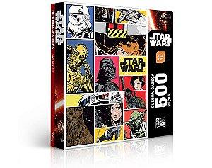 Quebra-Cabeça Ed. Especial Star Wars 500 Peças - Game Office