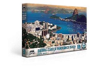 Quebra-Cabeça Rio de Janeiro 1500 Peças - Game Office