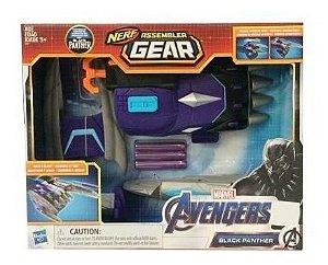 Nerf Assembler Gear Black Panther Pantera Negra Hasbro