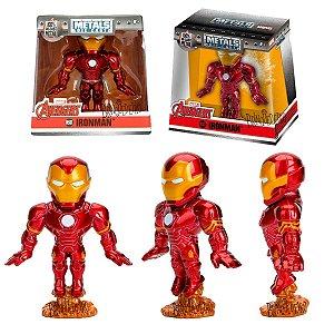 Boneco Homem de Ferro Iron Man em Metal Colecionável M501