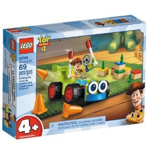 Woody e Rc 10766 - Lego Toy Story 4