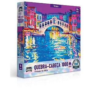 Quebra-Cabeça Veneza 1000 Peças - Game Office