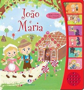 Livro João e Maria com Som