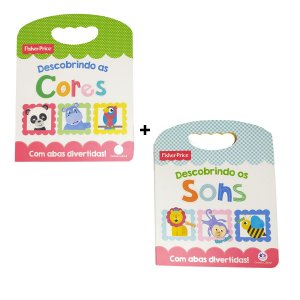 Kit Livro Conhecendo as Cores e Sons Fisher Price