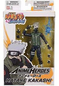 Boneco Naruto Shippuden Anime Hero - Hatake Kakashi - Bandai