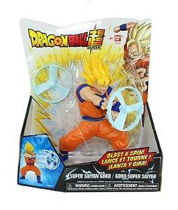 Brinquedo Lança e Gira Dragon Ball Super Goku - Bandai