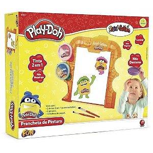 Prancheta de Pintura  Kit de Pintura Play-Doh - Fun