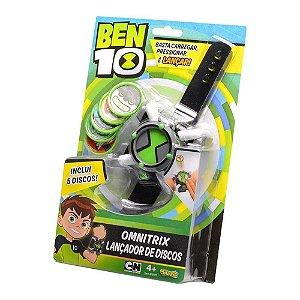 Relógio Ben 10 Com Lançador de Discos Original Promoção
