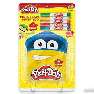 Pinte e Lave Divertido Play-Doh - Fun