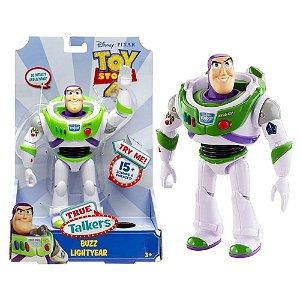 Boneco Toy Story 4 Buzz Lightyear True Talkers - Toyng