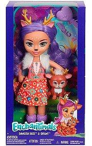 Boneca Enchantimals Danessa Deer e Sprint - Mattel