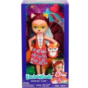 Boneca Enchantimals Felicity Fox e Flick - Mattel