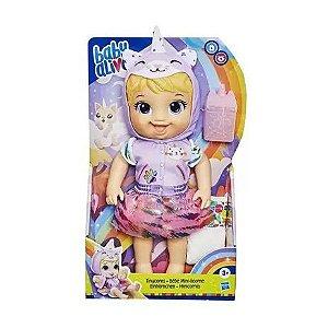 Boneca Baby Alive Bebê Minicornio Mattel