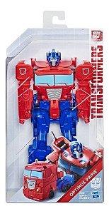 Boneco Transformers Titan Changers Optimus Prime - Hasbro