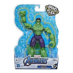 Boneco Hulk Vingadores Marvel Bend and Flex - Hasbro