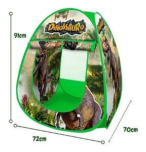 Barraca Infantil Barraquinha Meninos Dinossauro Infantil 91x72cm Monta Sozinha