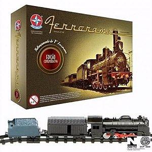 Brinquedo Trem Ferrorama Xp100 Locomotiva Estrela 80 Anos