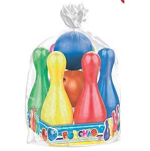 Brinquedo Jogo de Boliche Infantil Divertido Festas Líder