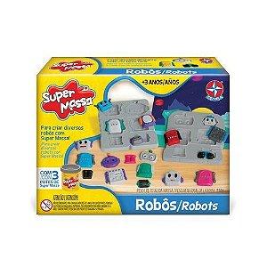 Massinha de modelar Super Massa Robôs Robots - Estrela