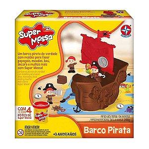 Massinha de Modelar Super Massa Barco Pirata - Estrela