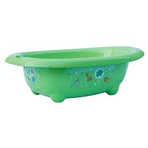 Banheira de Bebê Floresta Hércules 32L Verde, Azul ou Rosa