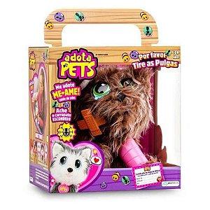 Cachorrinho de Pelúcia Adota Pets Scott Com Acessórios