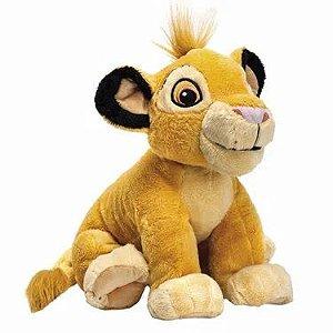 Pelúcia Disney Rei Leão Simba - Fun