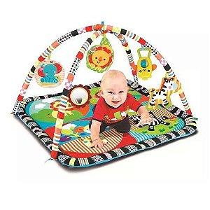 Tapete Infantil Para Bebês Centro De Atividades Com Aro