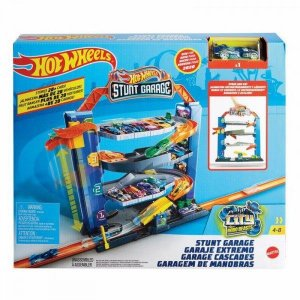 Pista Hot Wheels Garagem de Manobras Original - Mattel