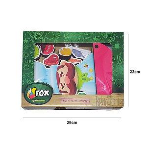 Brinquedo Jogo Educativo Jogo do Equilíbrio Alimentar Fox