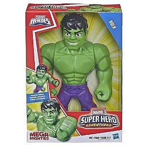 Boneco Hulk Articulado 25cm  Marvel Heroes Mega Mighties