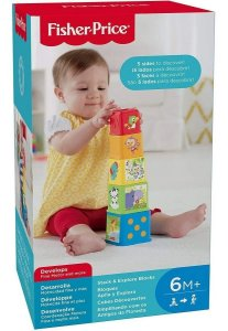 Brinquedo Para Bebê de Empilhar Colorido Fisher-Price
