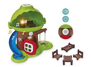 Casa na Arvore Little Land com Piscina Som e Luz