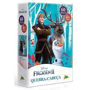 Jogo Quebra-Cabeça Infantil Frozen 2 60 Peças Disney