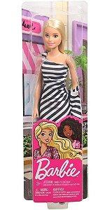 Boneca Barbie Loira 30cm Original Mattel