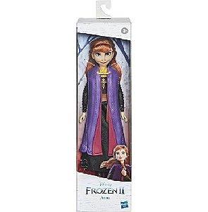 Boneca Anna 30cm Articulada Frozen 2 Disney Hasbro