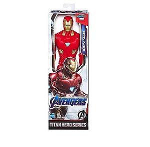Boneco 30cm Homem de Ferro Articulado Titan Hero Hasbro