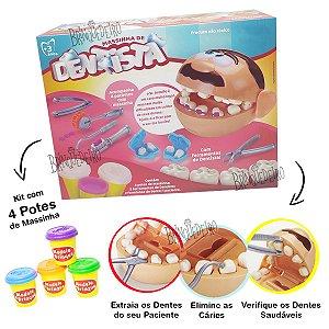 Massinha Brincando de Dentista