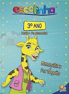 Escolinha Livro de Atividades Educativo Infantil 3° Ano