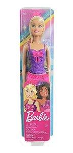 Boneca Barbie Princesa Loira 30cm  Mattel