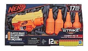 Pistola Nerf Cobra Kit com Alvos 17 Peças - Hasbro