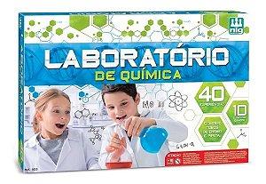 Jogo Laboratório de Química Com 40 Experiências Divertidas